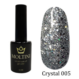 Гель-лак Moltini Crystal 005, 12 ml