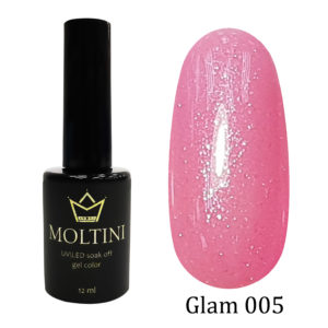 Гель-лак Moltini GLAM 005, 12 ml