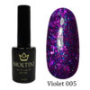 Гель-лак Moltini Violet 005, 12 ml