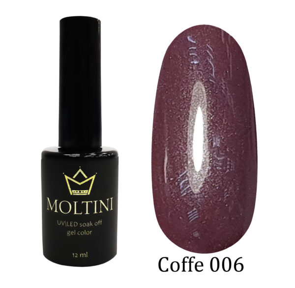 Гель-лак Moltini COFFE 006, 12 ml