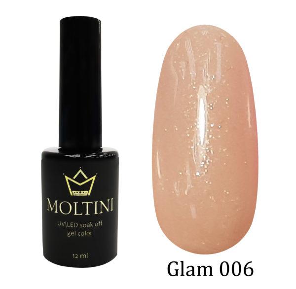 Гель-лак Moltini GLAM 006, 12 ml