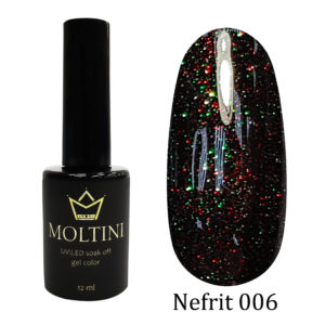 Гель-лак Moltini Nefrit 006, 12 ml