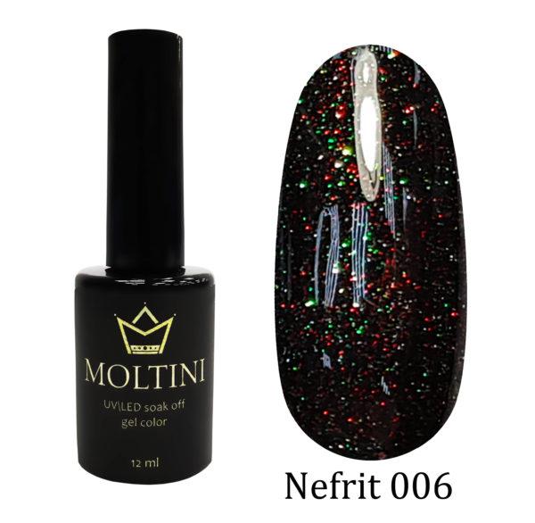 Гель-лак Moltini Nefrit 006, 12 ml