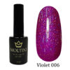 Гель-лак Moltini Violet 006, 12 ml