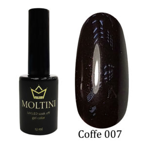 Гель-лак Moltini COFFE 007, 12 ml