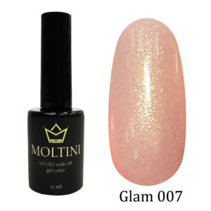 Гель-лак Moltini GLAM 007, 12 ml