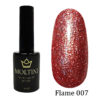 Гель-лак Moltini Flame 007, 12 ml
