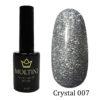 Гель-лак Moltini Crystal 007, 12 ml
