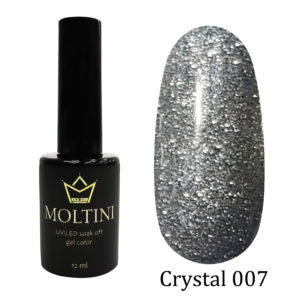 Гель-лак Moltini Crystal 007, 12 ml