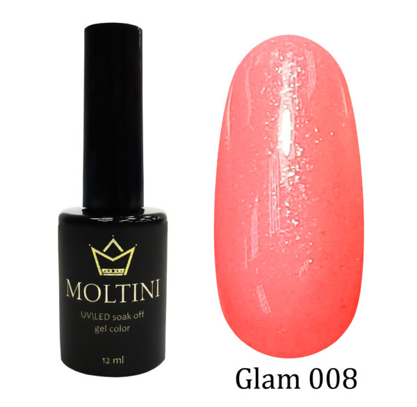 Гель-лак Moltini GLAM 008, 12 ml