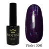 Гель-лак Moltini Violet 008, 12 ml
