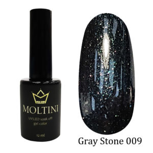 Гель-лак Moltini Gray Stone 009, 12 ml