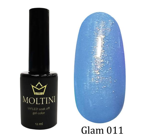 Гель-лак Moltini GLAM 011, 12 ml
