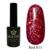Гель-лак Moltini RED 011, 12 ml