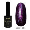 Гель-лак Moltini Violet 011, 12 ml
