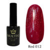 Гель-лак Moltini RED 0012 12 ml