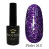 Гель-лак Moltini Violet 013, 12 ml