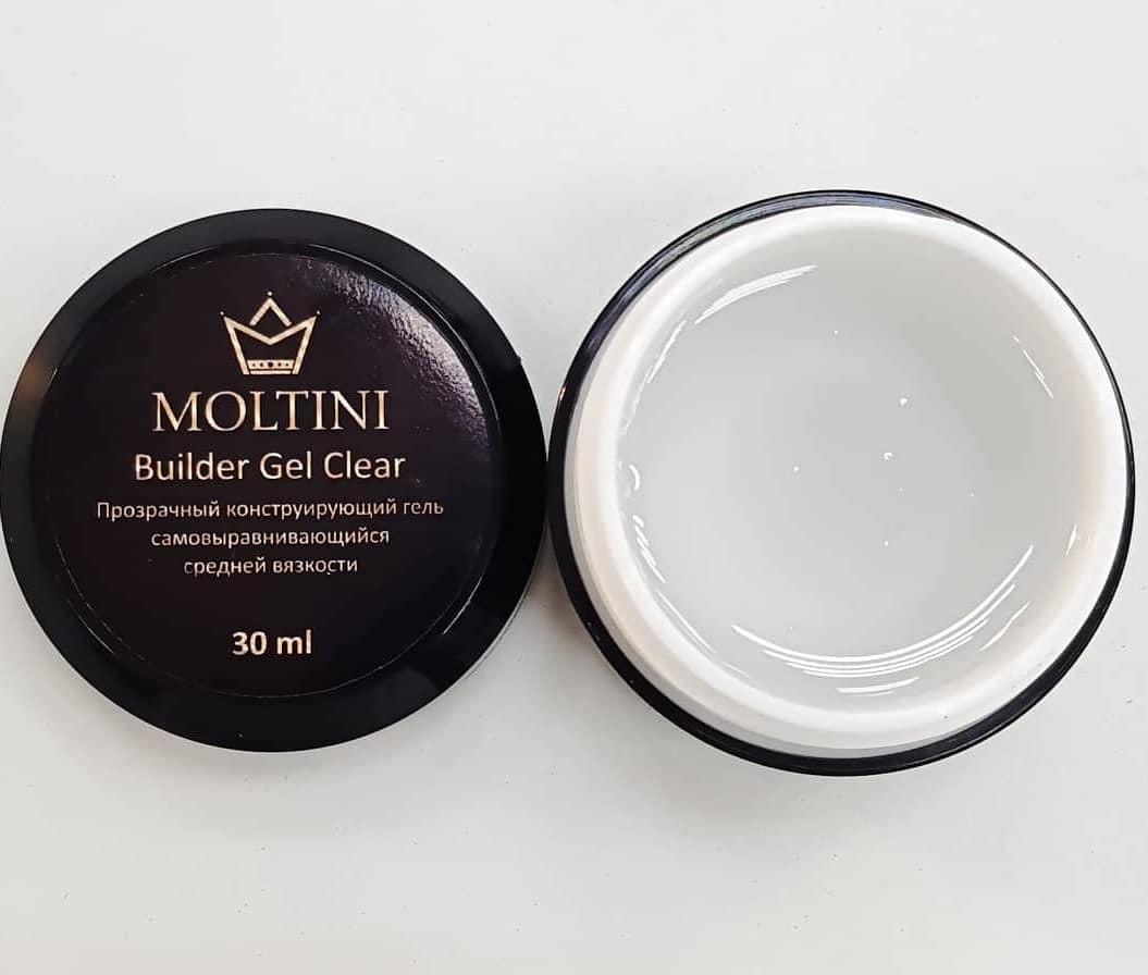 Гель конструирующий Moltini Builder Gel Clear