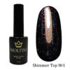 Топ с шиммером без липкого слоя Moltini Shimmer Top №1, 12 ml