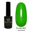 Гель-лак Moltini Fresh 001, 12 ml
