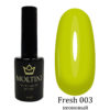 Гель-лак Moltini Fresh 003, 12 ml