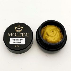 Гель-паста для стемпинга Moltini, желтый 6 ml