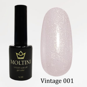 Гель-лак Moltini Vintage 001, 12 ml