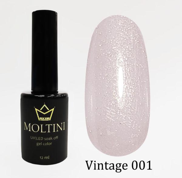 Гель-лак Moltini Vintage 001, 12 ml
