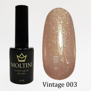 Гель-лак Moltini Vintage 003, 12 ml