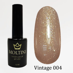Гель-лак Moltini Vintage 004, 12 ml