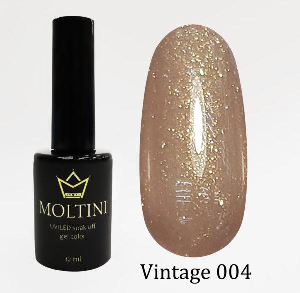 Гель-лак Moltini Vintage 004, 12 ml
