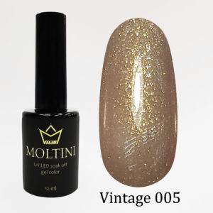 Гель-лак Moltini Vintage 005, 12 ml