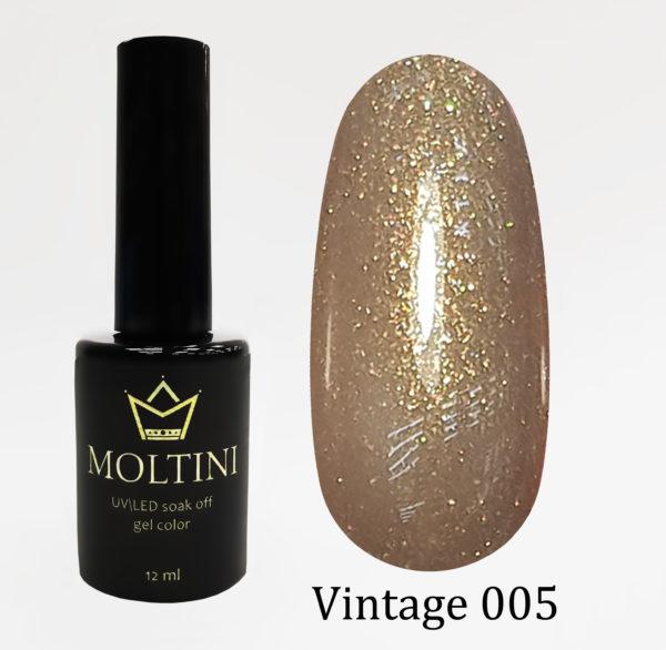Гель-лак Moltini Vintage 005, 12 ml