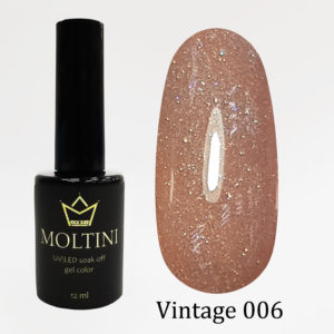 Гель-лак Moltini Vintage 006, 12 ml