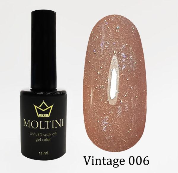 Гель-лак Moltini Vintage 006, 12 ml