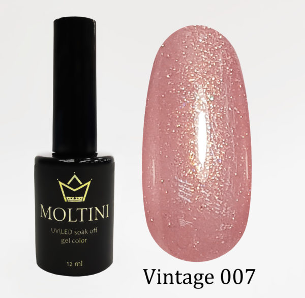 Гель-лак Moltini Vintage 007, 12 ml