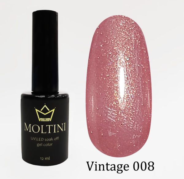 Гель-лак Moltini Vintage 008, 12 ml
