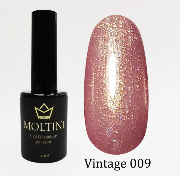 Гель-лак Moltini Vintage 009, 12 ml