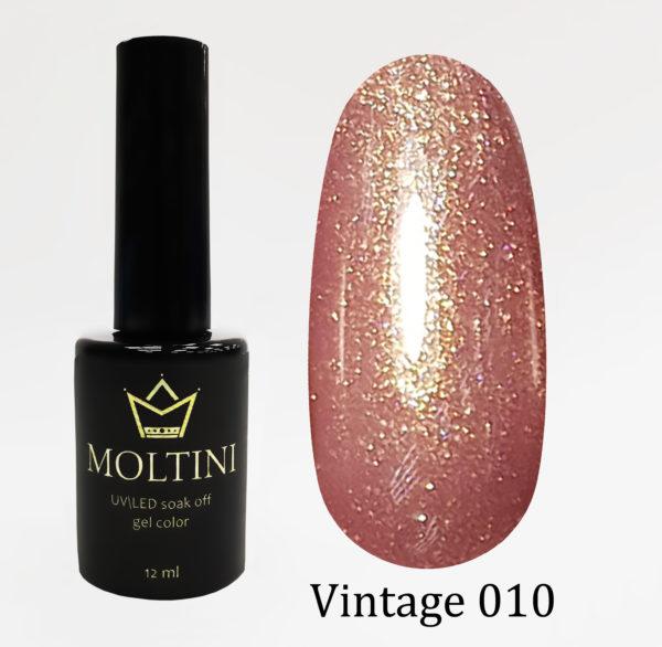 Гель-лак Moltini Vintage 010, 12 ml