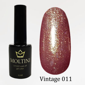 Гель-лак Moltini Vintage 011, 12 ml