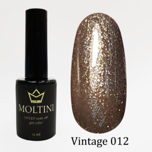 Гель-лак Moltini Vintage 012, 12 ml
