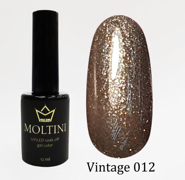 Гель-лак Moltini Vintage 012, 12 ml
