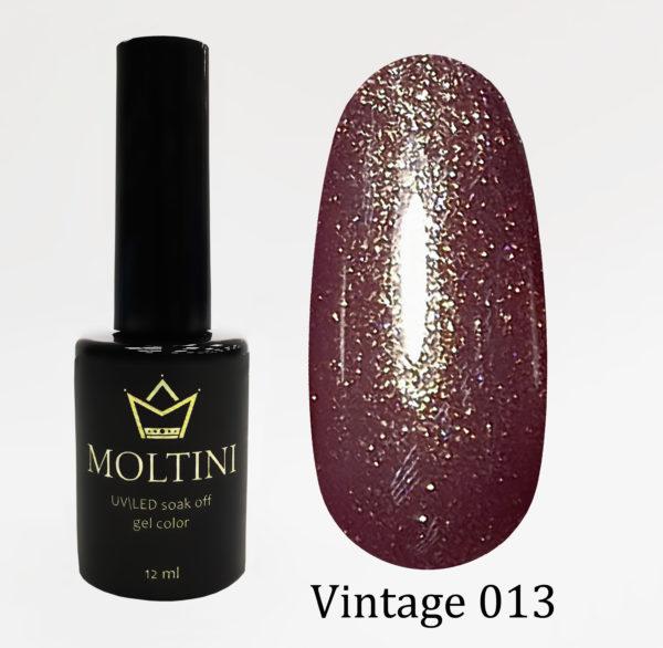 Гель-лак Moltini Vintage 013, 12 ml