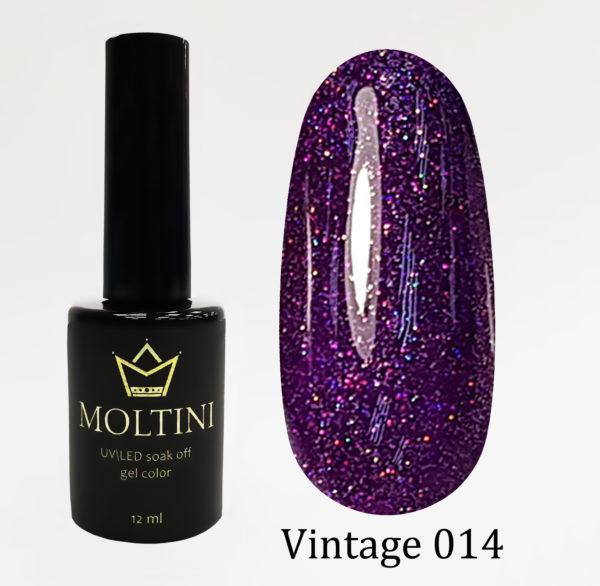 Гель-лак Moltini Vintage 014, 12 ml