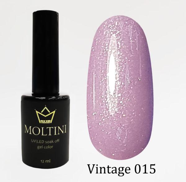 Гель-лак Moltini Vintage 015, 12 ml