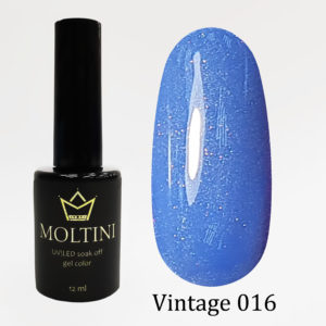 Гель-лак Moltini Vintage 016, 12 ml