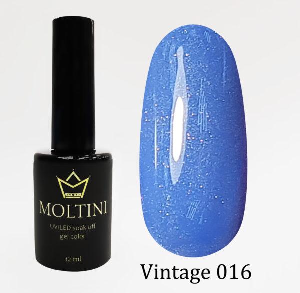 Гель-лак Moltini Vintage 016, 12 ml