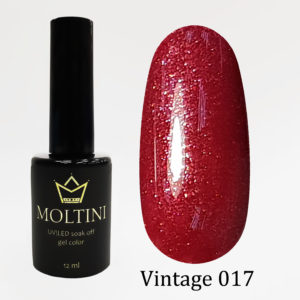 Гель-лак Moltini Vintage 017, 12 ml