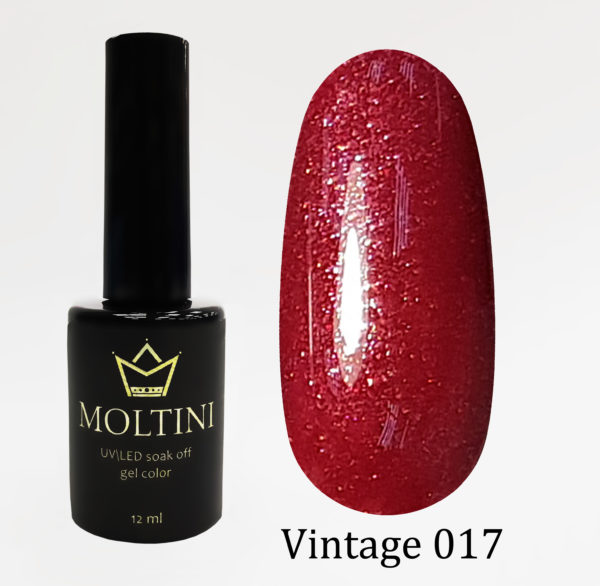 Гель-лак Moltini Vintage 017, 12 ml