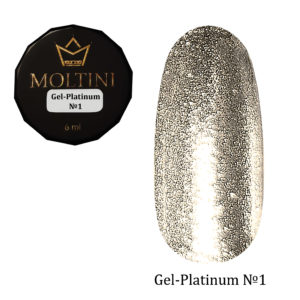 Гель-лак Moltini Platinum 01, 6 ml